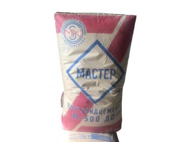 Цемент Мастер М-500 Д0 50 кг Портландцемент