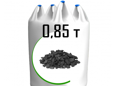 Биг-бег угля марки ДМС - Эко-горошек (5-25мм)